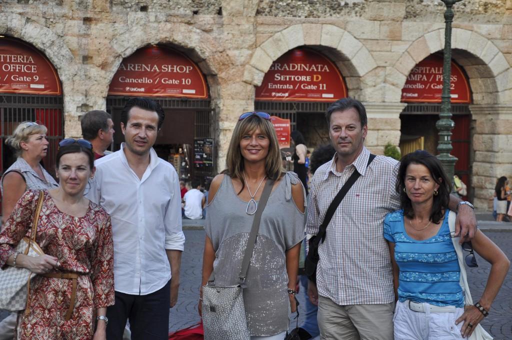 Die Verona-Besucher